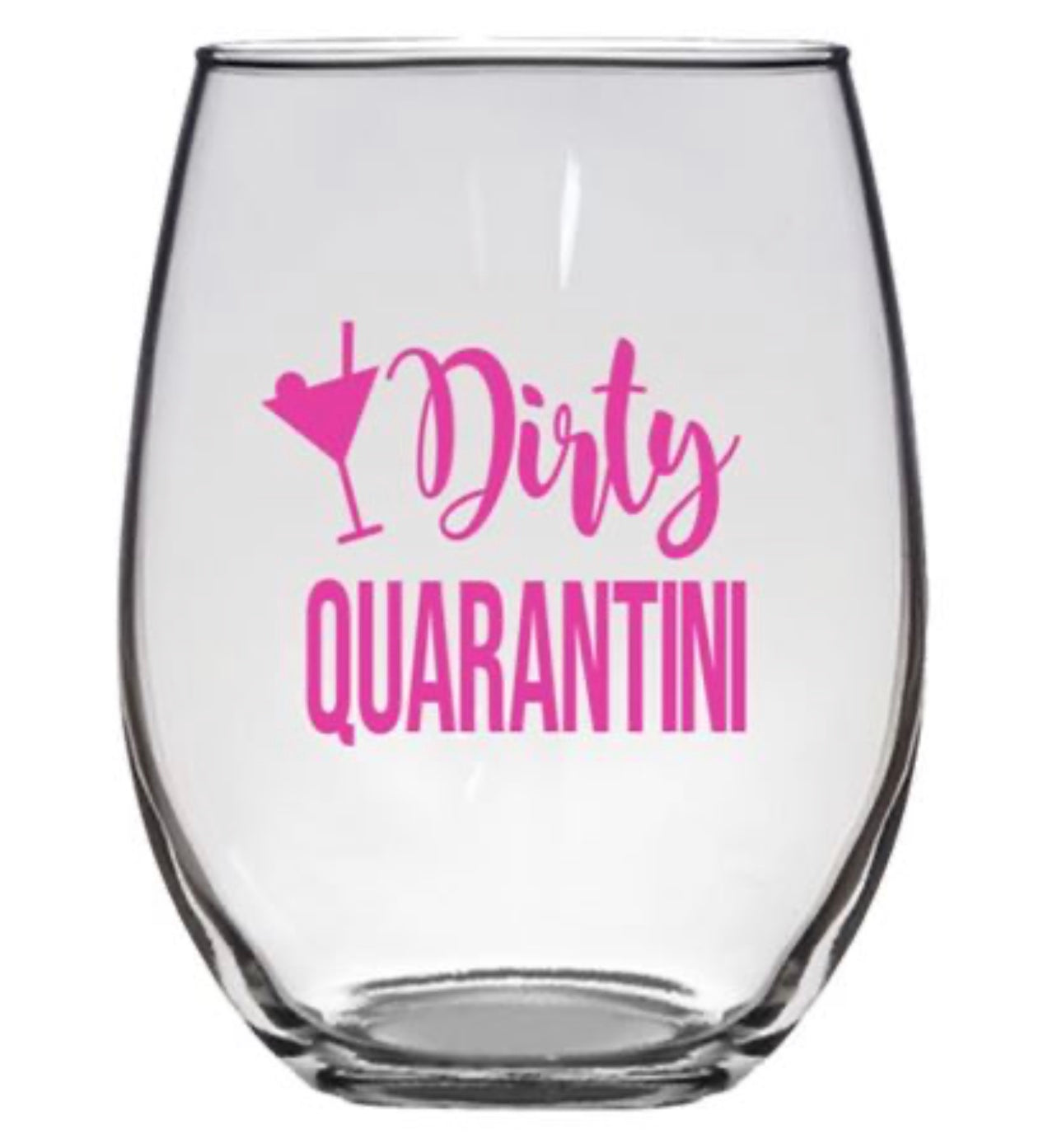 STEMLESS WINE GLASS - QUARANTINI