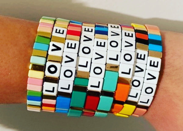 BRACELET- YELLOW LOVE