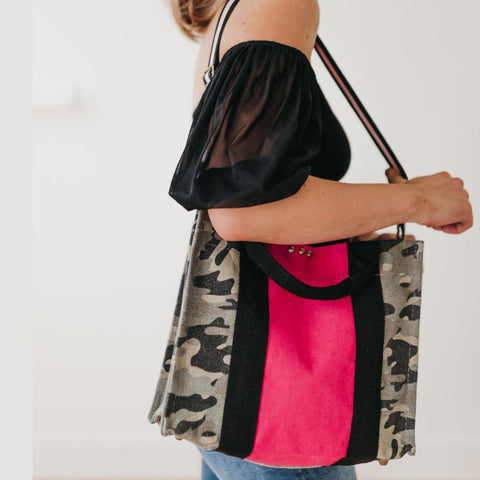TOTE CAMO PINK - TYPE 1 DIABETES