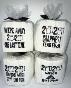 TOILET PAPER ROLL - 2020 SET OF 4