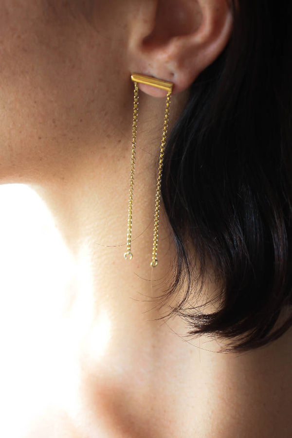 Versatile Chain Earring, 3 Unique Looks