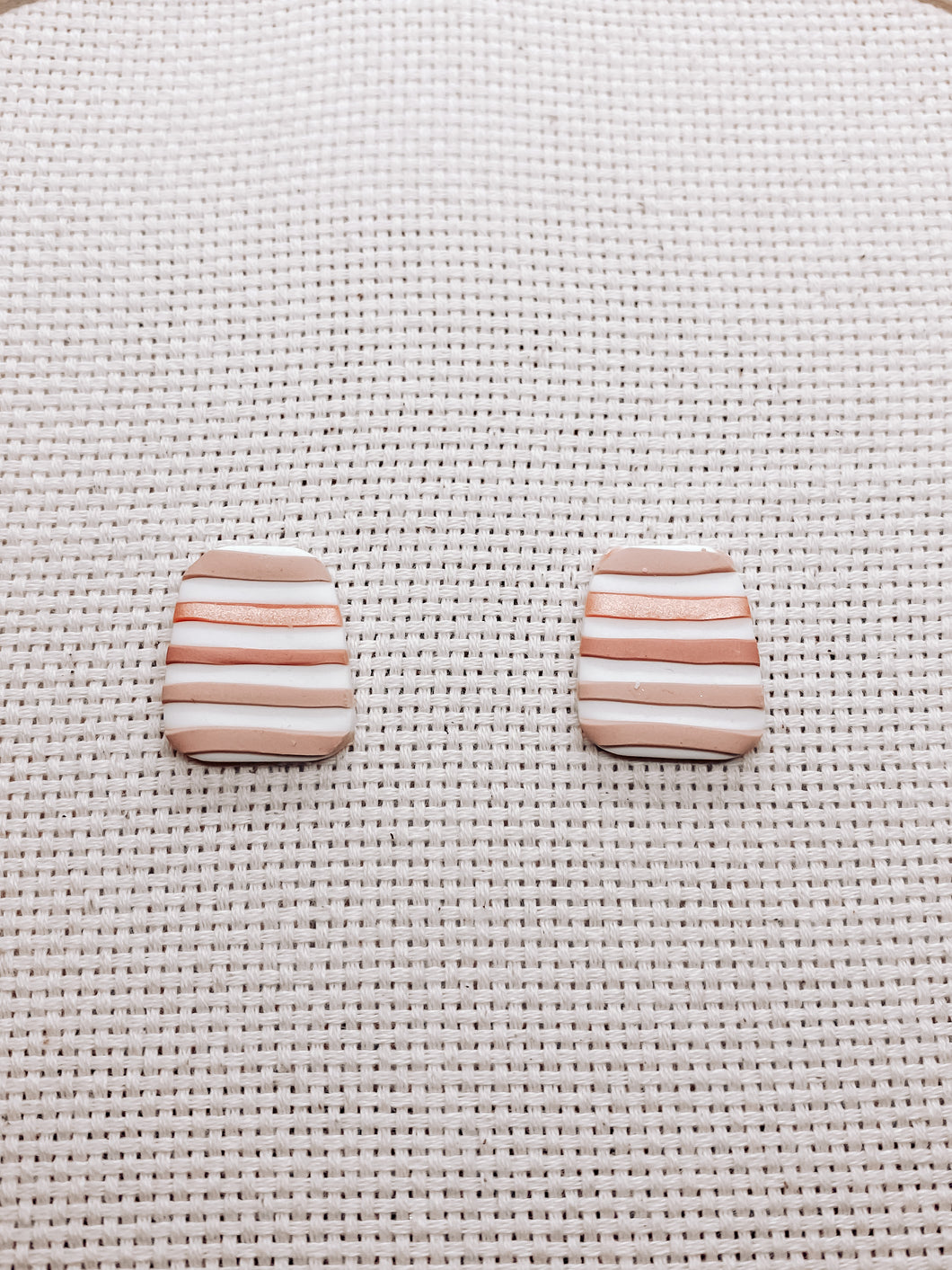 Threads Stud Earrings