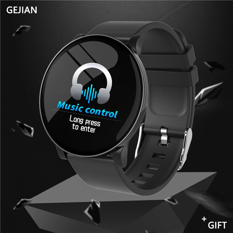 NewSmart Watch Men Smartwatch IP67 Waterproof Heart Rate Monitoring Fitness Bracelet Sport Smarrt Watches For IOS Xiaomi Android