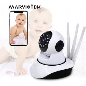 720P Baby Monitor WiFi Baby Camera with monitor Night Vision Video Nanny Camera P2P Wireless Baby phone camera two way audio IR