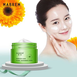 MABREM Calendula Double Moisturizing Cream Anti-Aging Whitening Wrinkle Removal Repair pores Relieves Rough And dry Skin Care