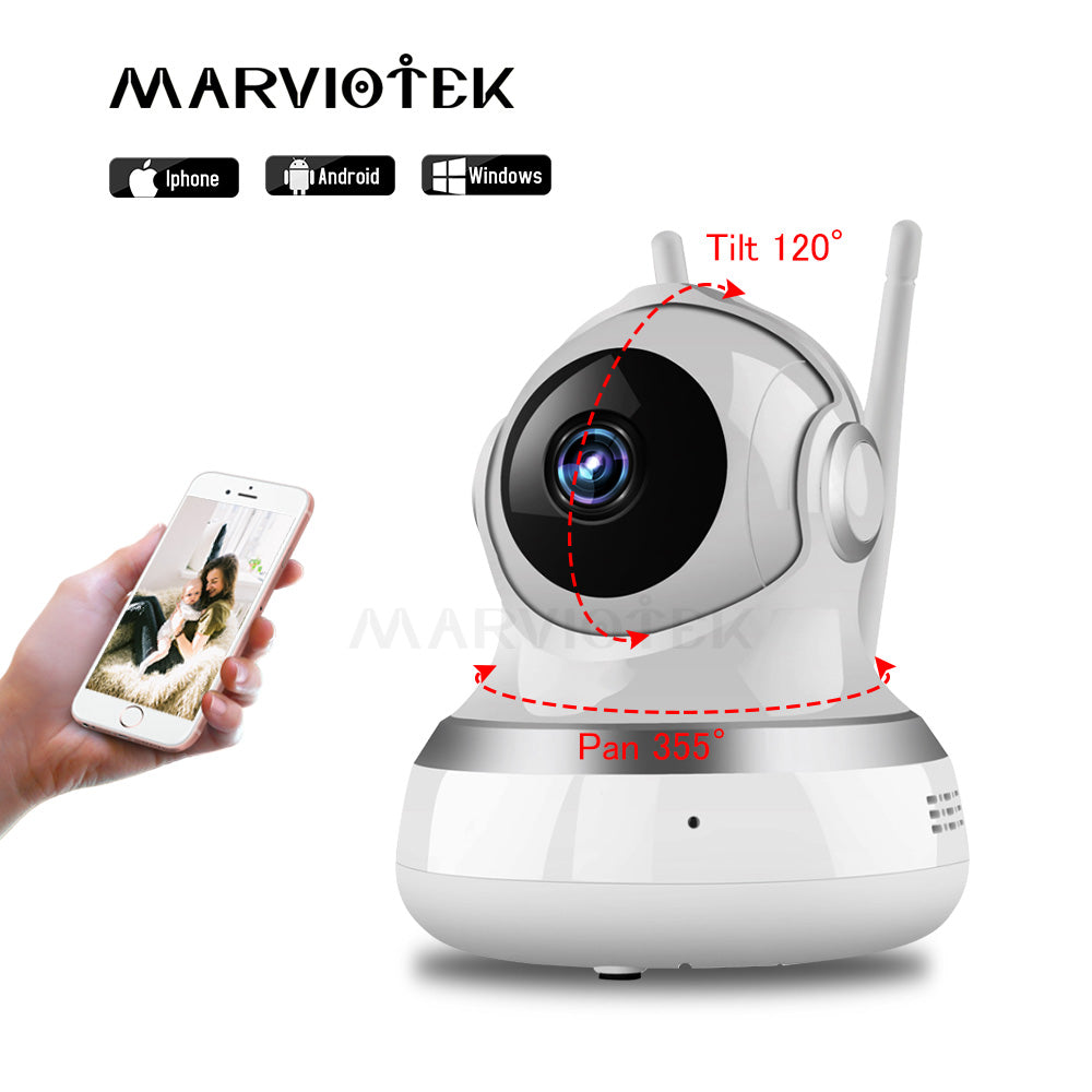 Baby Monitor Wireless 720P IP Camera WiFi Baby camera with Monitor two way audio Video Nanny Cam Baby Camerasnight vision ipcam