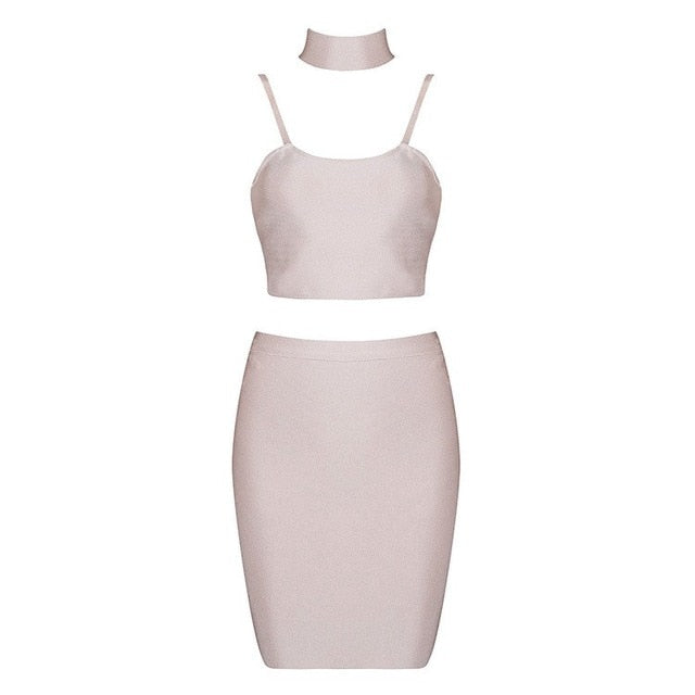 Ship From USA Collections Women Bandage Dresses 2019 New Arrivals Party White Bandage Rayon Dress Sexy Strap Dress Mini