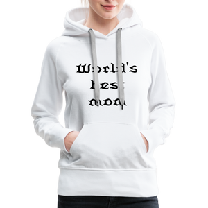 Women's Premium Hoodie Sweat - white