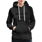 Women's Premium Hoodie Sweat - black