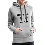 Women's Premium Hoodie Sweat - heather gray