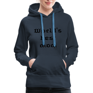 Women's Premium Hoodie Sweat - navy