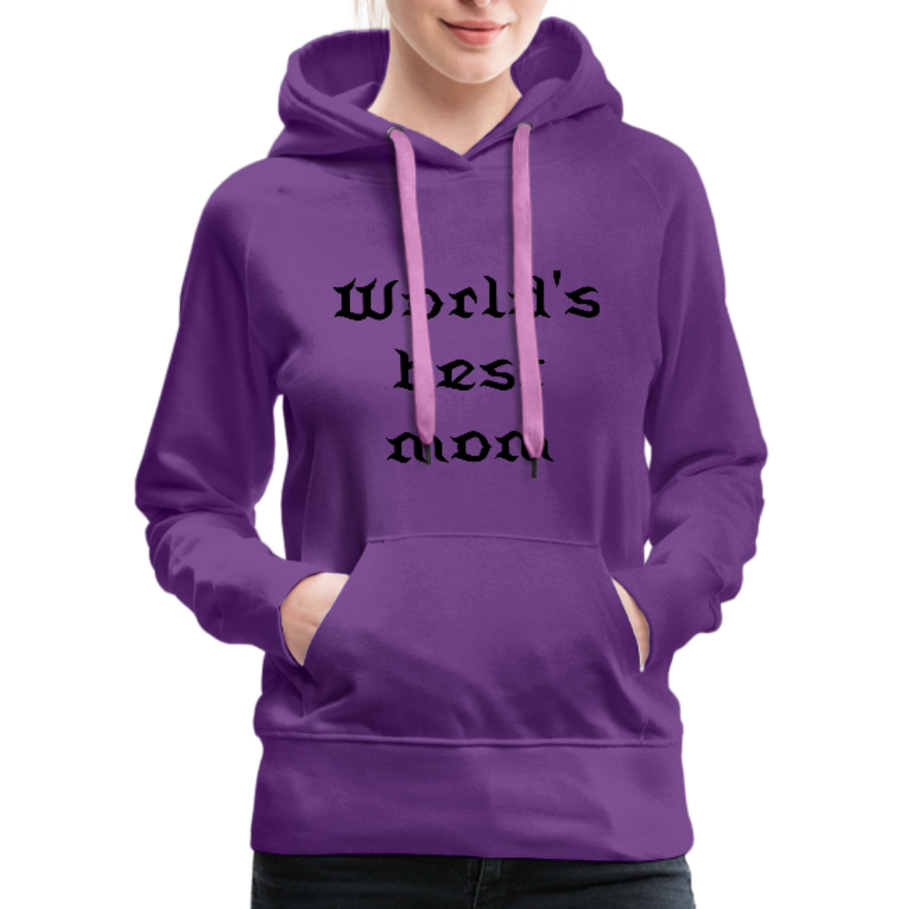 Women's Premium Hoodie Sweat - purple
