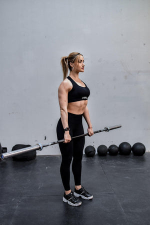 Load image into Gallery viewer, Limitless Leggings - Black - HypedApparel.com