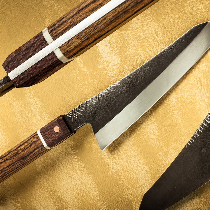Custom Gyuto by Seb Steel Works - The Knife Roll