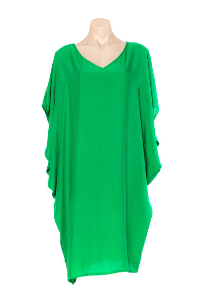 GREEN  MID LENGTH KAFTAN
