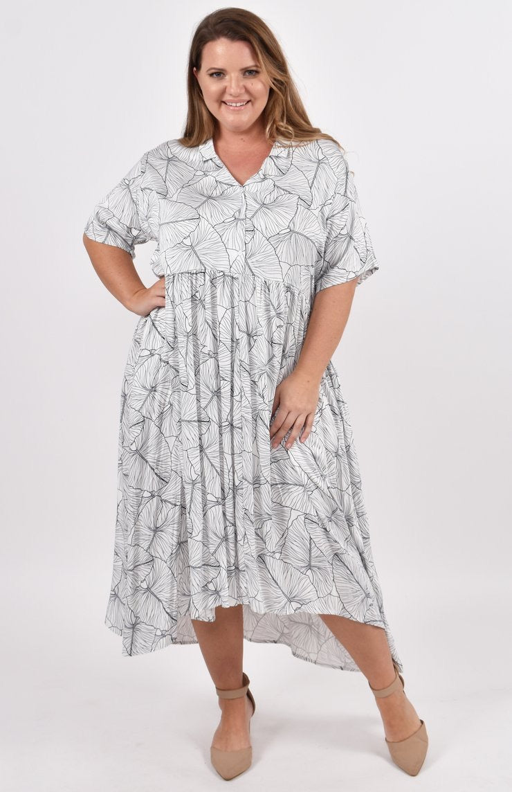 EVERYDAY T-SHIRT DRESS IN COASTAL DREAM