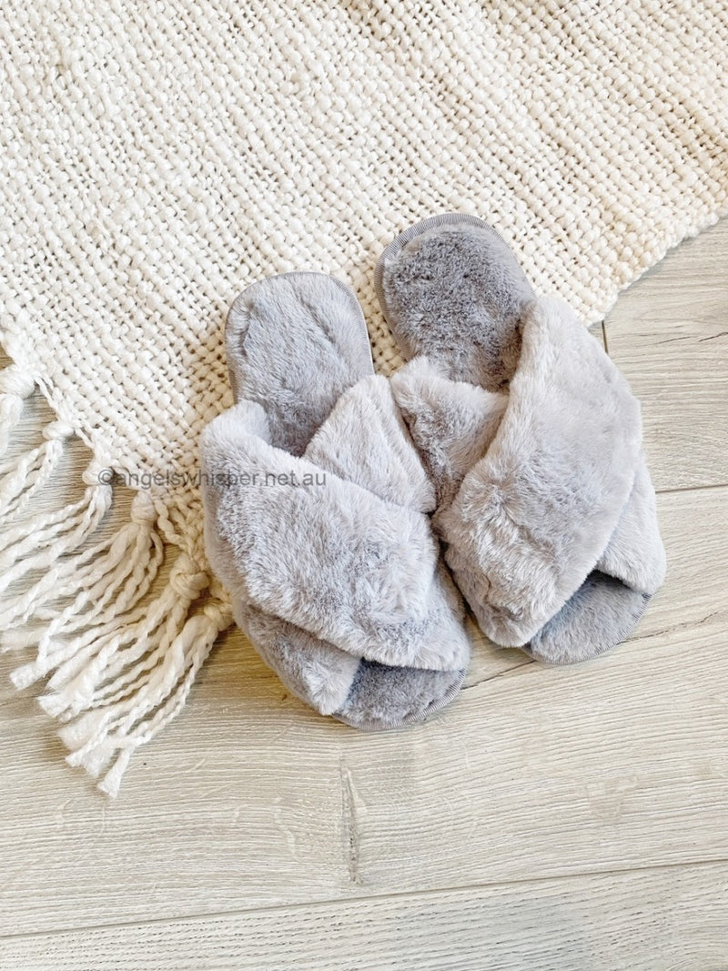 Skylar Slippers - Grey