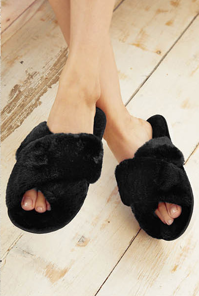 Skylar Slippers - Black