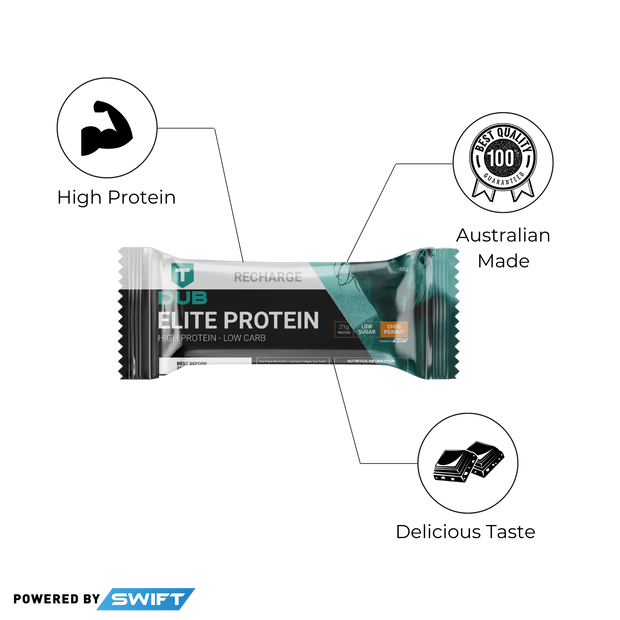 TDUB x SWIFT Elite Protein Bar