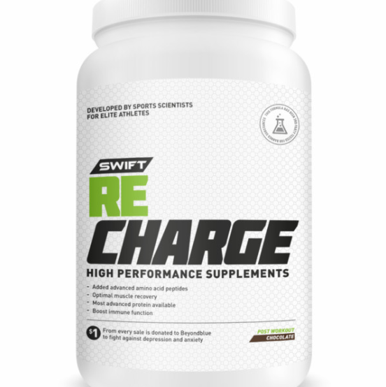 SWIFT RE-CHARGE PROTEIN ATHLETE RECOVERY PROTEIN