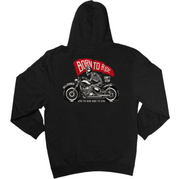 BORN TO RIDE - KIDS HOODIE