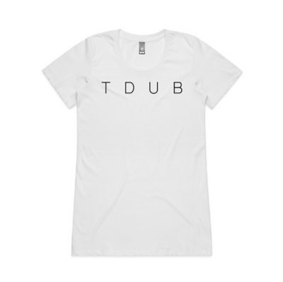 TDUB LADIES WAFER TEE