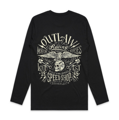 TDUB SPEED SHOP LONG SLEEVE TEE