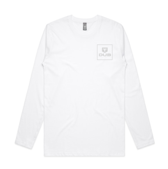 TDUB BOX LOGO LONG SLEEVE TEE