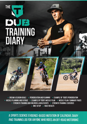 The TDUB Training Diary - 1st Edition - BUY NOW FOR 50% OFF