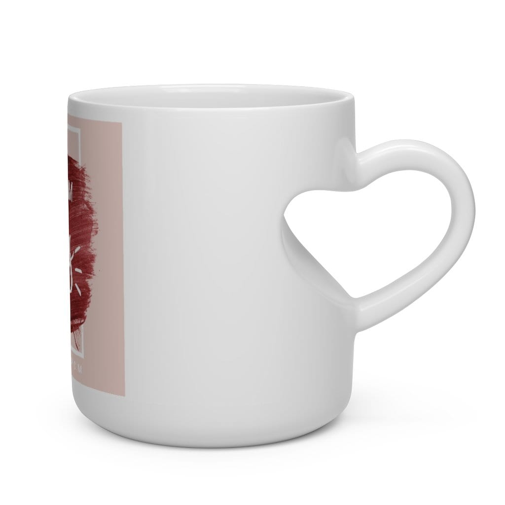 Heart Shape Boss Mom Mug - Eula Blue