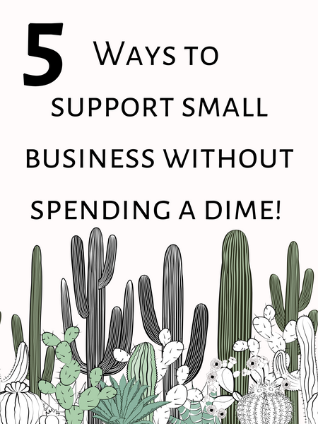 5 Ways to Support Small Business for FREE