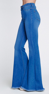 Baby Blue Bell Bottoms