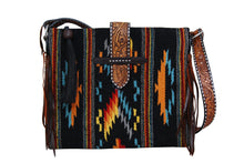 Load image into Gallery viewer, Saddle Blanket Tote Bag - Desert Moonlight