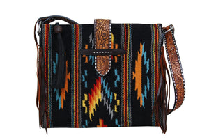 Saddle Blanket Tote Bag - Desert Moonlight