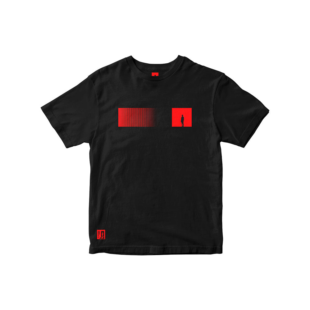 Lone Romantic - T-Shirt Red Bar