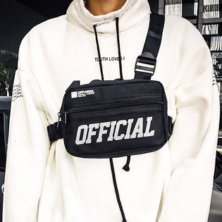 Tactical Hip Hop Street Chest Rig - Stoonky