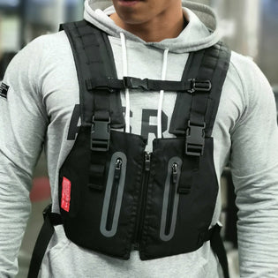 Sport Tactical Chest Rig Bag Reflective - Stoonky