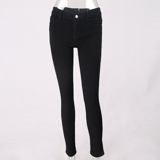 Back Zip Jeans - Stoonky