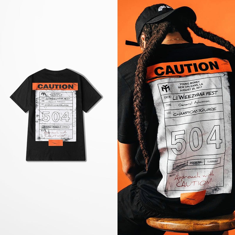 Caution T-shirt - Stoonky