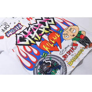 Cartoon Hip Hop T-Shirt - Stoonky