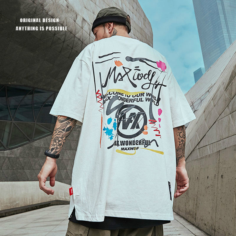 Street Fashion Hip-hop Trend T-shirt - Stoonky