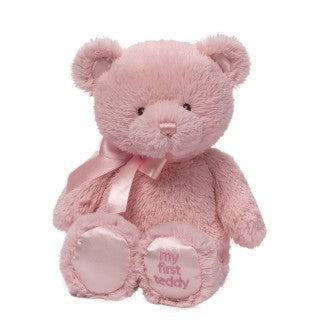 Baby gund | My first teddy pink