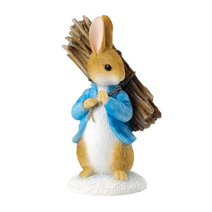 Peter Rabbit | Peter Carrying Sticks Mini Figurine