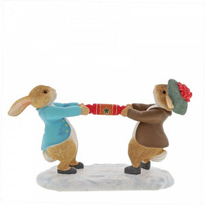 Peter Rabbit | Peter and Benjamin Pulling a Cracker
