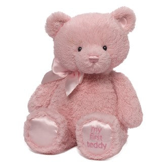 My First Teddy | Pink 38cm