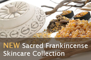 This entire collection is plant powered with Sacred Frankincense Essential oil,  otherwise know as the KING of all essential oils.