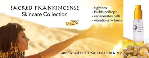 Sacred Frankincense Skin Care Collection | Natural Beauty Skincare