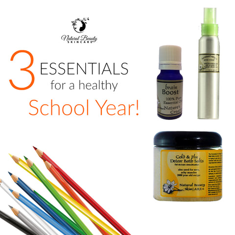 3 Back to School Essentials - Trio 15% OFF