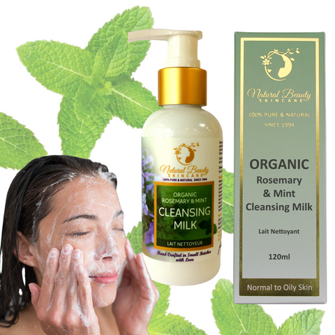 Organic Mint & Rosemary Cleansing Milk