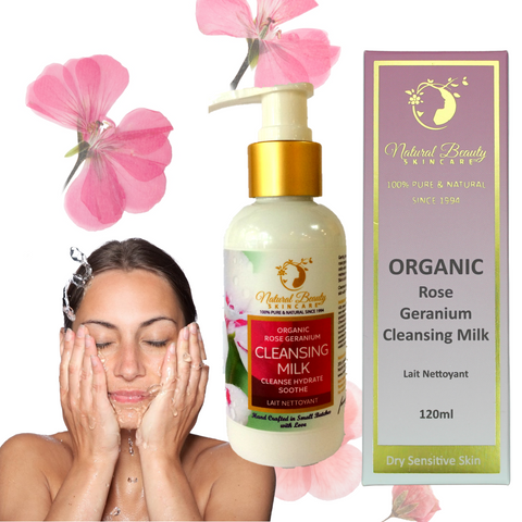 Rose Geranium Cleansing Milk